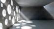 circle holes windows