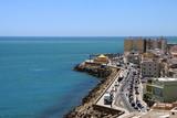 Quay in the city of Cadiz, standing on the Atlantic coast. - 195992397
