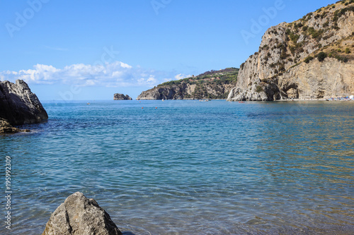 Staande foto Tropical strand Capri island in a beautiful summer day in Italy