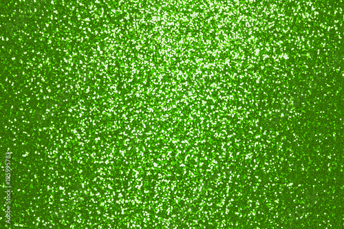 Sparkling green sequin textile background - 195995783