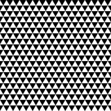 Vector mosaic pattern - black and white seamless background - 196007718