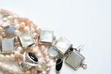Jewelry On White