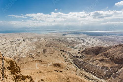 In de dag Blauwe jeans desert in Israel