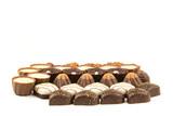 An assortment of fine chocolates - 196013334
