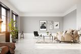 modern living room interior - 196015337