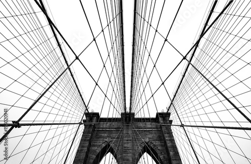Fotobehang Brooklyn Bridge Brooklyn bridge of New York City