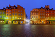 Warsaw. Royal Square.
