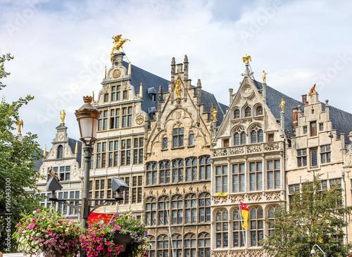Fotobehang Antwerpen Antwerp Grote Markt