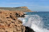 Rocks of the Mediterranean coast - 196057510