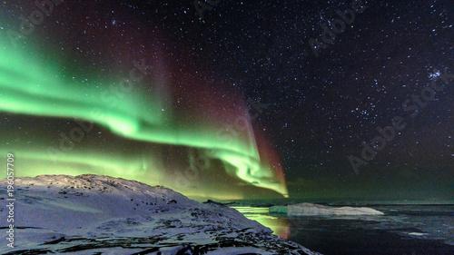 Plexiglas Noorderlicht Greenland