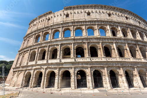 Tuinposter Rome Ancient arena of gladiator Colosseum in city of Rome, Italy