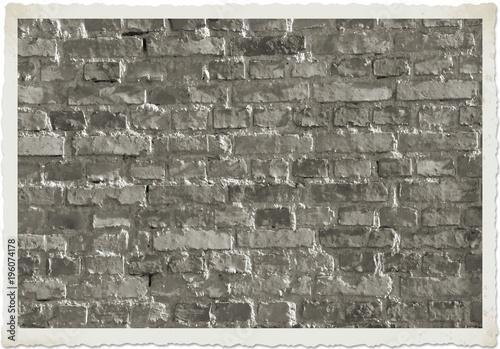 Tuinposter Baksteen muur Hintergrund Ziegelsteinmauer alt