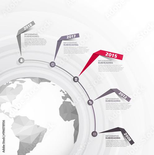 Infographic startup milestones time line vector template buy infographic startup milestones time line vector template maxwellsz