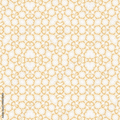 Abstract melting endless seamless colorful kaleidoscopic pattern for design and background - 196078983