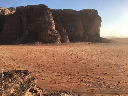 Wadi Rum - desert Poster