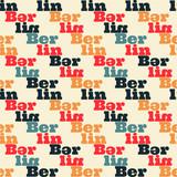 Berlin creative pattern. Digital design for print, fabric, fashion or presentation. - 196096954