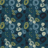 Grunge stains seamless pattern. Authentic design for digital and print media. - 196100155