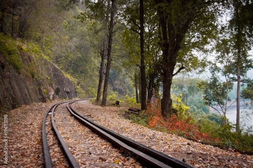 Fotobehang Spoorlijn The Death railway