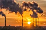 pipe factory smoke - 196117554