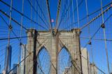 usa new york brooklyn bridge - 196127319