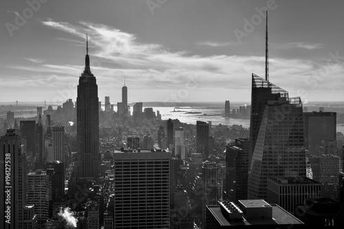 Foto op Aluminium New York usa new york skyline buildings