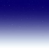 Space stars background. Light night sky vector