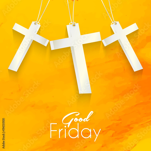 nice and beautiful abstract for Good Friday with nice and creative design illustration in a background.