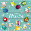 Frohe Ostern Cover - 196139358