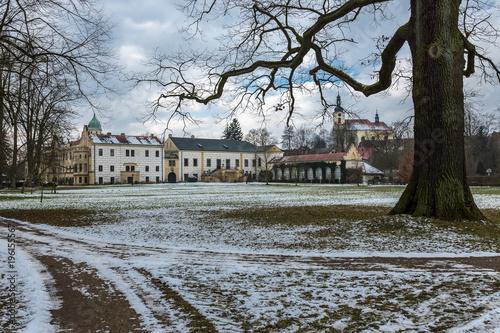 Historyczny pałac w Castolovice, Republika Czech