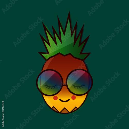pineapple funny - 196173178