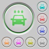 Car wash push buttons