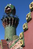 Gaudi's El Capricho - Comillas - Spain poster