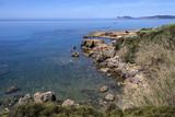 Western coastline of Sardinia - Italy poster