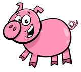 pig or piglet character cartoon illustration - 196205984