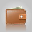 simply vector wallet icon