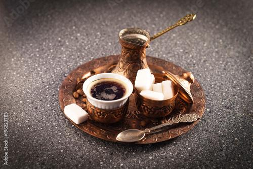Poster Turkish coffee (Türk kahvesi)