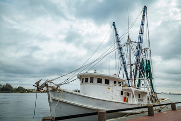 Shrimp Boat in Savannah © Brian