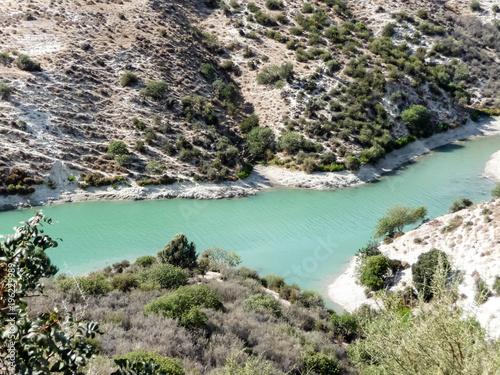 Fotobehang Cyprus Mountain river in Cyprus