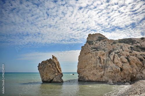 Fotobehang Cyprus Cyprus. Beach of Aphrodite