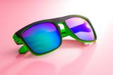 The modern sunglasses. - 196246361