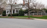 house in any town with white picket fence