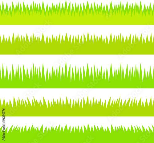 草原、草のフッター素材