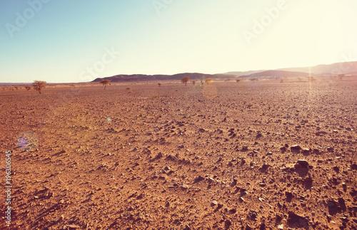 Aluminium Galyna A. Sahara desert