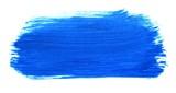 Unordentliche blaue Pinseltextur - 196329131