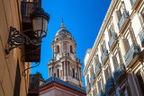 Charming street Malaga