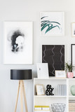 Paintings and lamp - 196357162