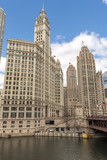 Chicago downtown buildings - 196371960