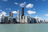 Chicago downtown buildings skyline - 196372300