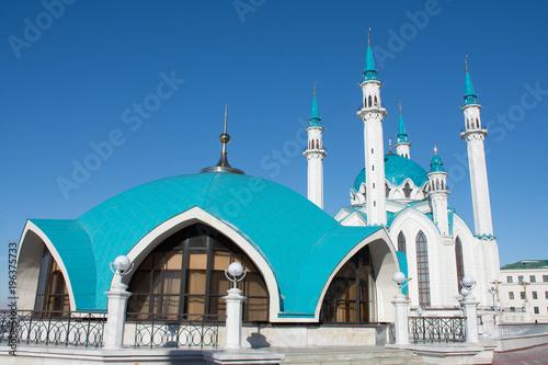 Sticker Kul Sharif mosque in Kazan Kremlin. Russia.