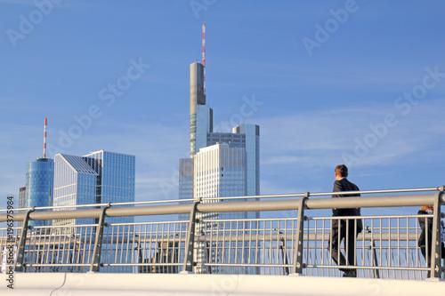 Frankfurt nad Menem wiosną, Niemcy